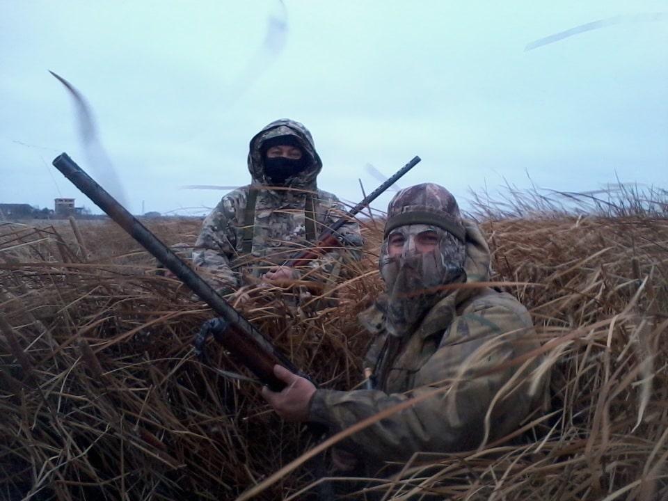 Осенняя охота на гуся