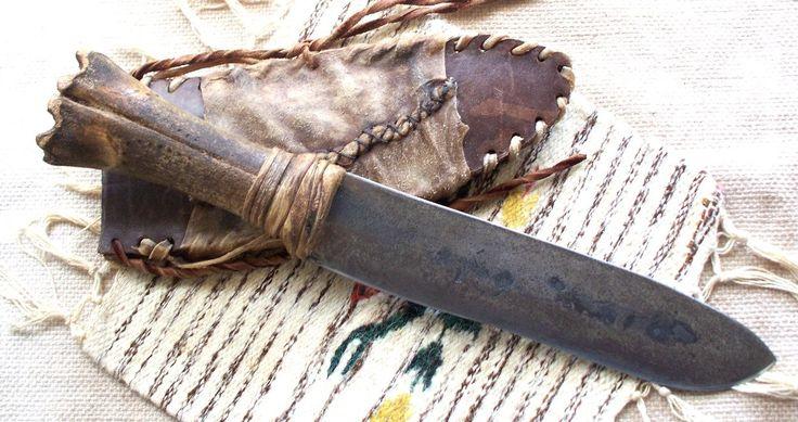 древний охотничий нож