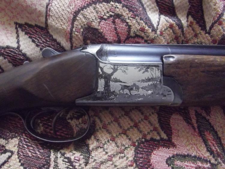Охотничье ружье ИЖ 12