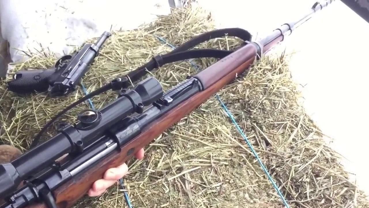 Охотничий карабин маузер 98