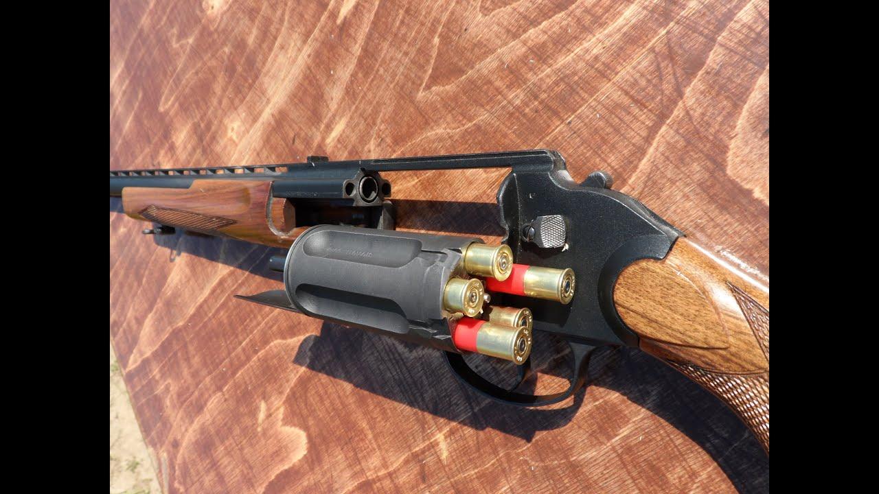 Револьверное ружье МЦ 255