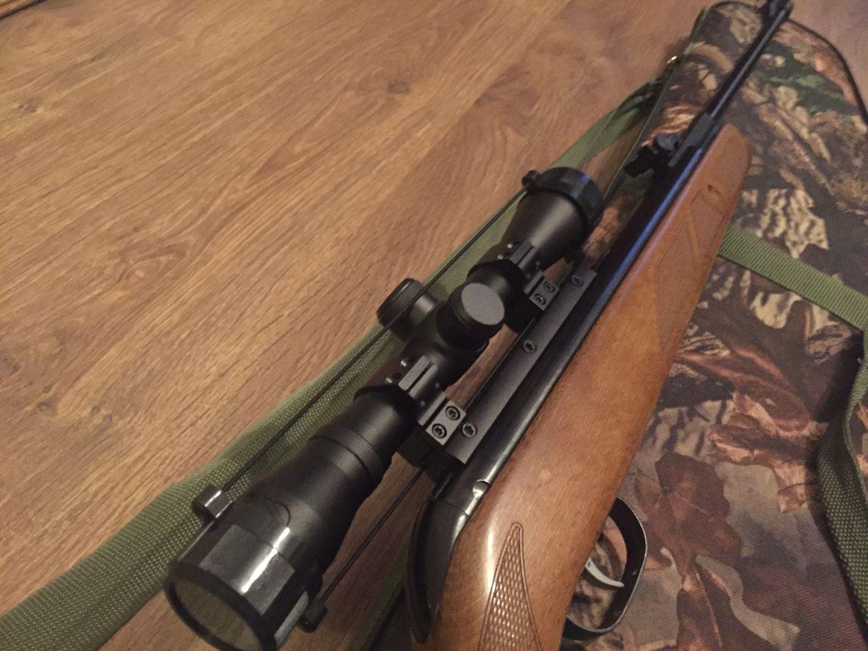 Пневматическая винтовка - gamo hunter 440