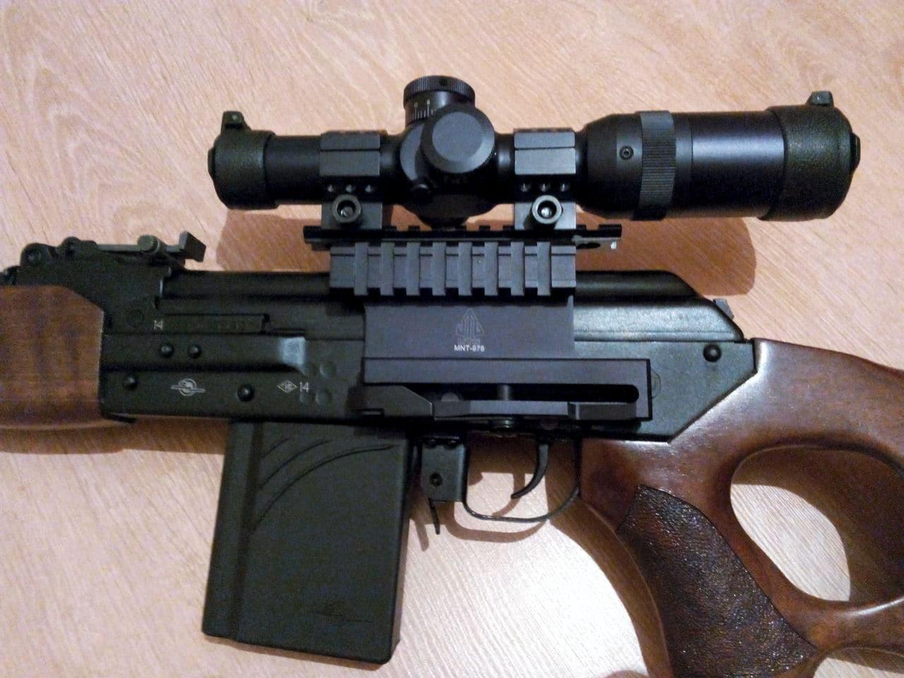 Охотничий карабин Вепрь 308