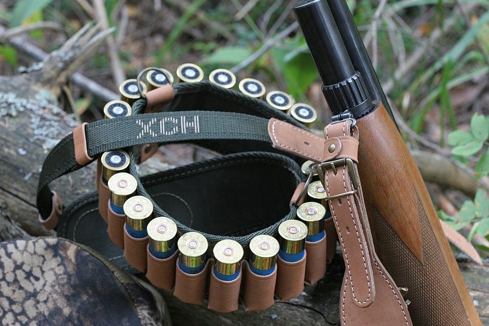 Современный охотничий патронташ