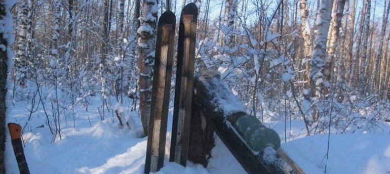 охотничьи лыжи