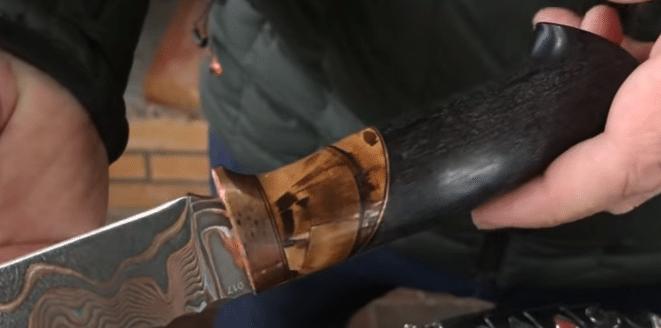 рукоять для охотничьего ножа