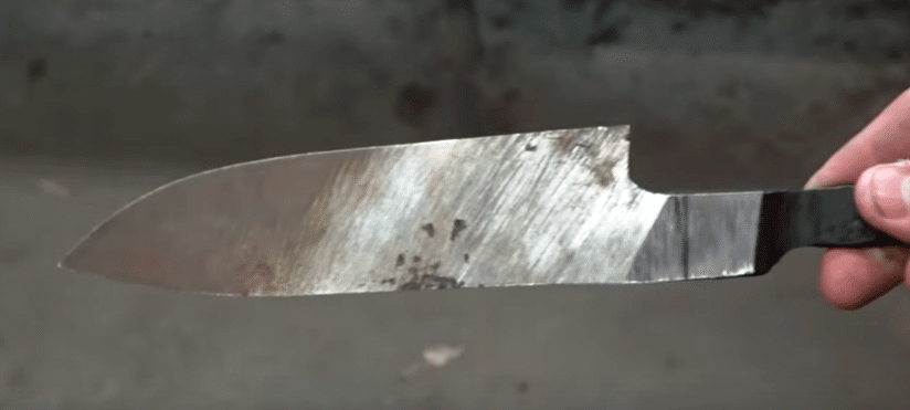 Ковка клинков из дамасской стали