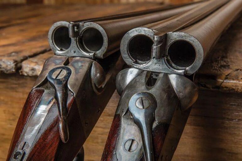 двухствольное ружье